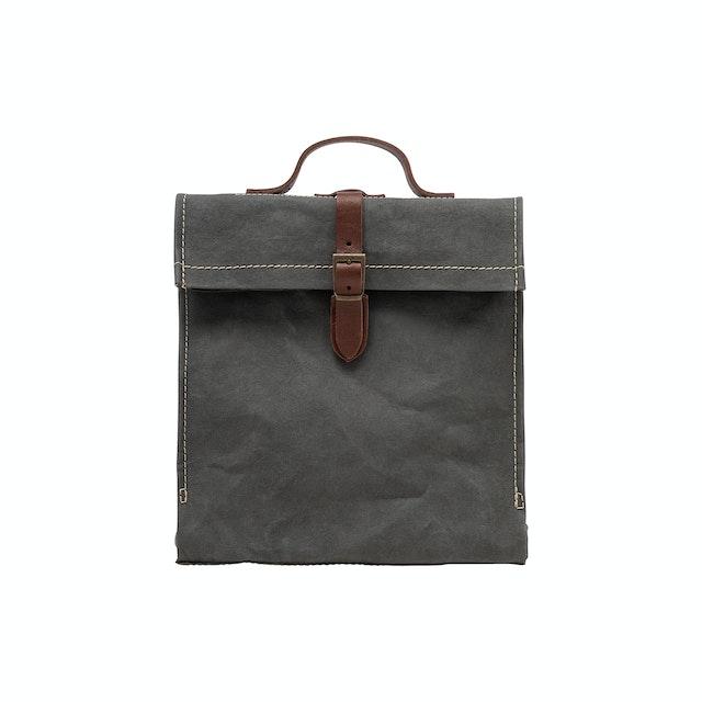 UASHMAMA Lunch Backpack Dark Grey