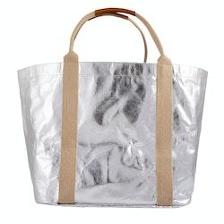 UASHMAMA Giulia Bag Large Metallic Metallic Silver