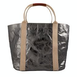 UASHMAMA Giulia Bag Large Metallic Metallic Peltro