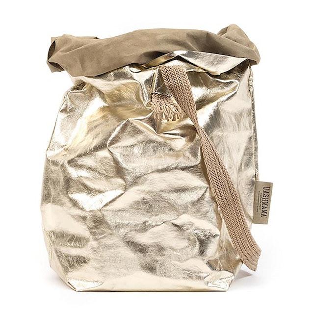 UASHMAMA Carry One Metallic Sabbia/Platino