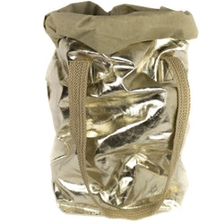 UASHMAMA Carry Two Metallic Sabbia/Platino