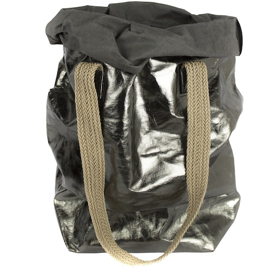 UASHMAMA Carry Two Metallic Dark Grey/Peltro