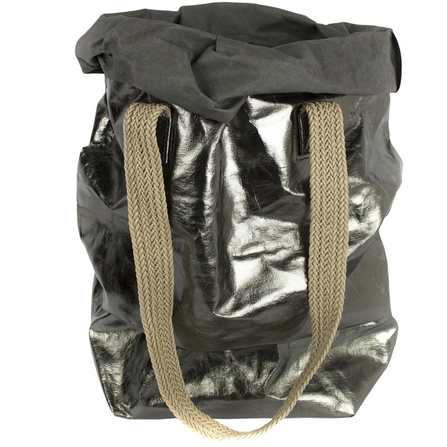 UASHMAMA Carry Two Metallic Dark Grey/Peltro