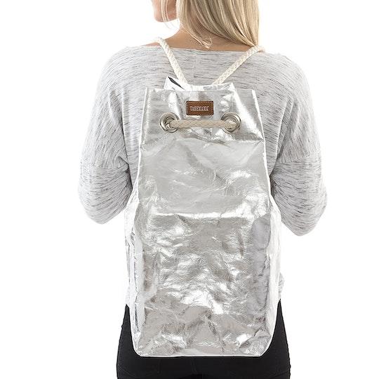 UASHMAMA Capri Metallic Metallic Silver