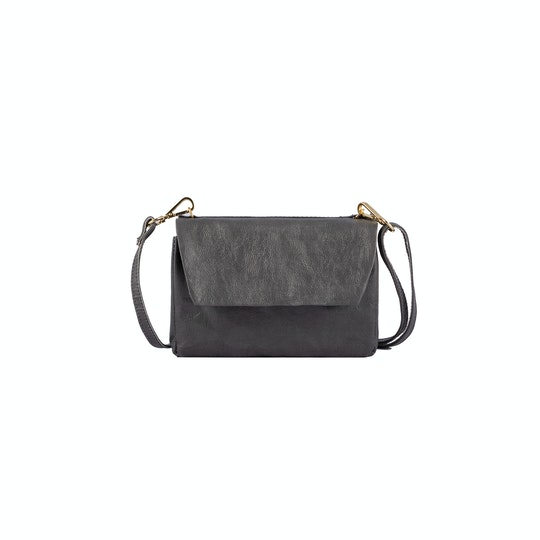 UASHMAMA Terme Tracolla Small Dark Grey