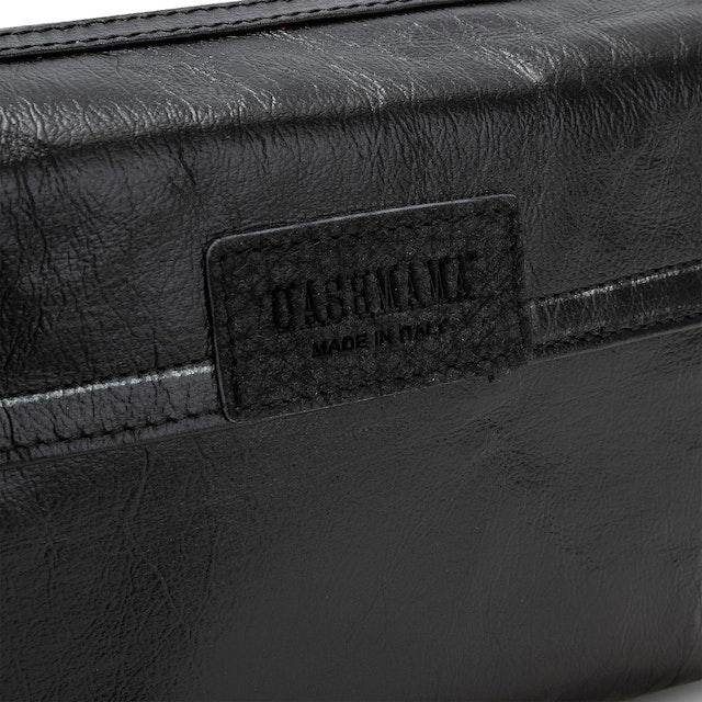 UASHMAMA Terme Tracolla Small Metallic Metallic Black