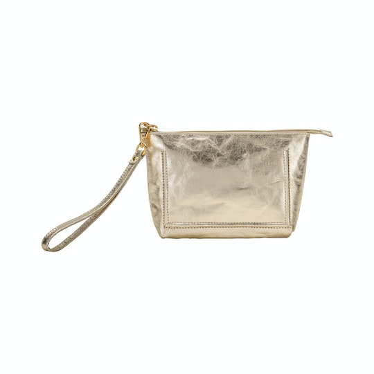 UASHMAMA Trendy Purse Metallic Platino