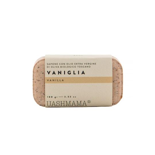UASHMAMA Sapone Vegetale Vaniglia