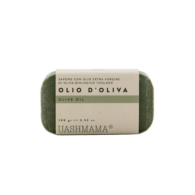 UASHMAMA Sapone Vegetale Olio d'Oliva