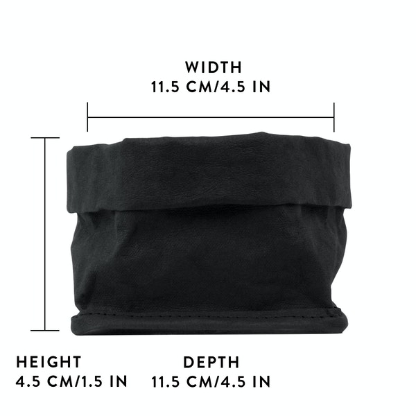UASHMAMA Lollie Medium Black