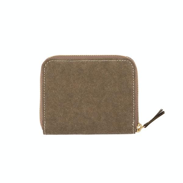 UASHMAMA Vita Wallet Small Olive