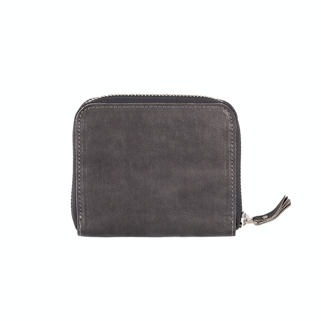 UASHMAMA Vita Wallet Small Dark Grey