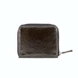 UASHMAMA Vita Wallet Small Metallic Metallic Peltro