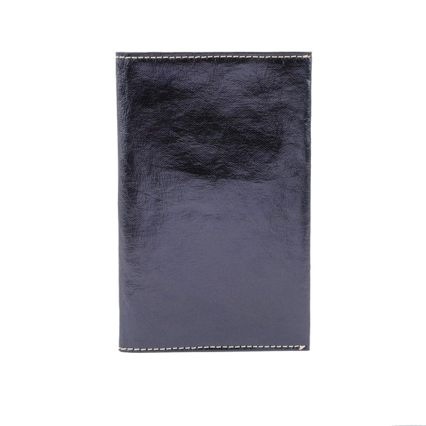 UASHMAMA Wallet Large Metallic Metallic Petrolio
