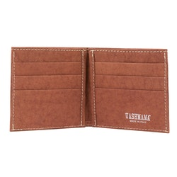 UASHMAMA Wallet Small Cognac