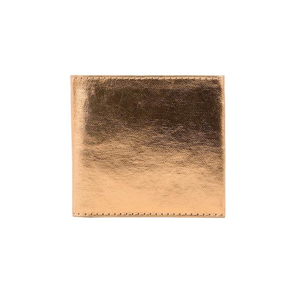 UASHMAMA Wallet Small Metallic Metallic Rose