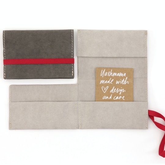 UASHMAMA Card Holder Grey