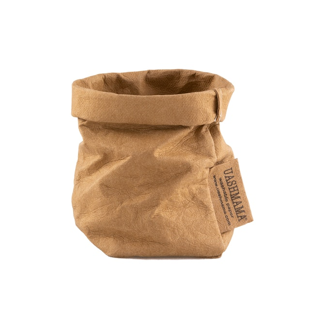 UASHMAMA Paper Bag Basic Xsmall  Avana