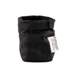 UASHMAMA Paper Bag Basic Xsmall  Black