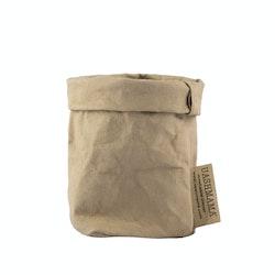 UASHMAMA Paper Bag Colored Xsmall Sabbia