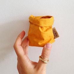 UASHMAMA Paper Bag Colored Xsmall Senape