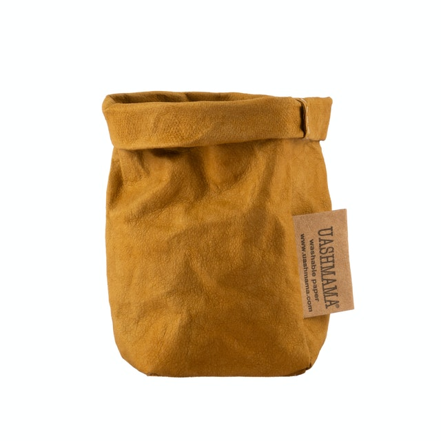 UASHMAMA Paper Bag Colored Xsmall Ocra