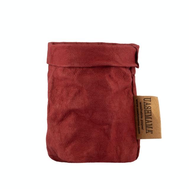 UASHMAMA Paper Bag Colored Xsmall Bordeaux