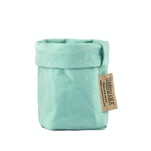 UASHMAMA Paper Bag Colored Xsmall Oceano