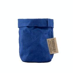 UASHMAMA Paper Bag Colored Xsmall Cobalto