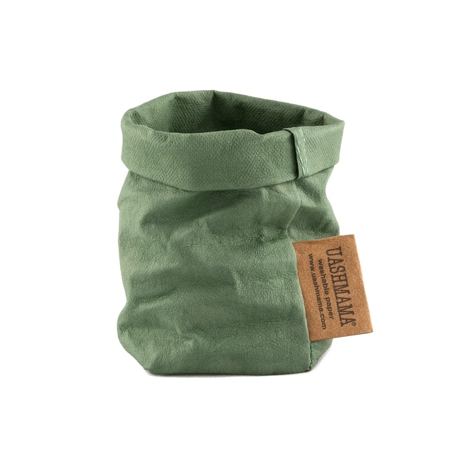 UASHMAMA Paper Bag Colored Xsmall Salvia