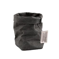 UASHMAMA Paper Bag Colored Xsmall Dark Grey