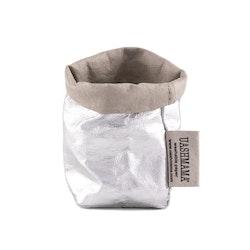 UASHMAMA Paper Bag Metallic Xsmall GSI