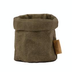 UASHMAMA Paper Bag Basic Piccolo   Olive