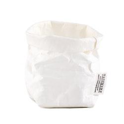 UASHMAMA Paper Bag Basic Piccolo   White
