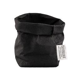 UASHMAMA Paper Bag Basic Piccolo   Black