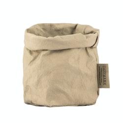 UASHMAMA Paper Bag Colored Piccolo   Sabbia