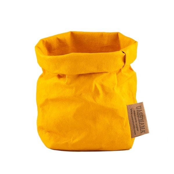 UASHMAMA Paper Bag Colored Piccolo   Senape