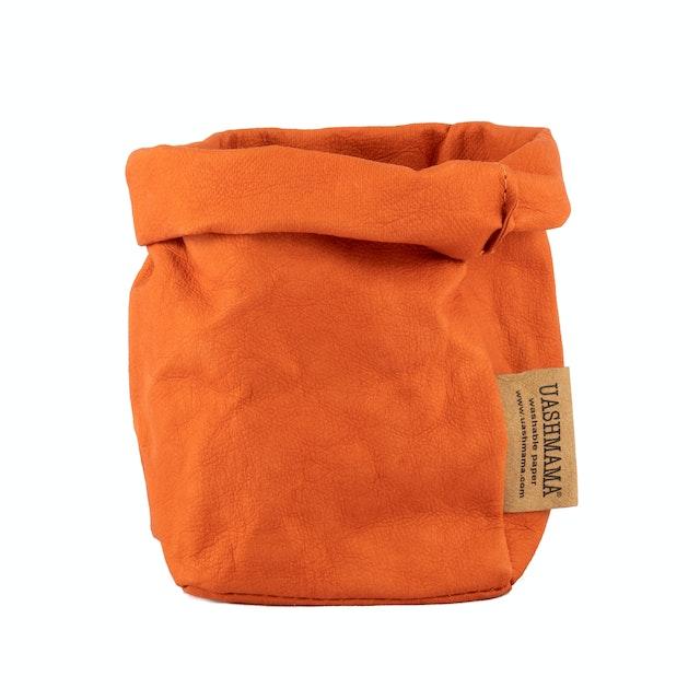 UASHMAMA Paper Bag Colored Piccolo   Pesca
