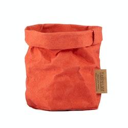 UASHMAMA Paper Bag Colored Piccolo   Corallo