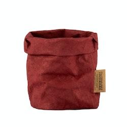 UASHMAMA Paper Bag Colored Piccolo   Bordeaux