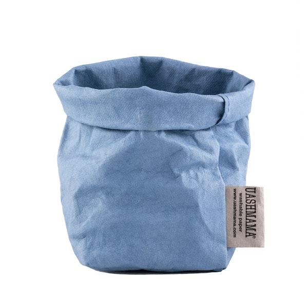 UASHMAMA Paper Bag Colored Piccolo   Indaco
