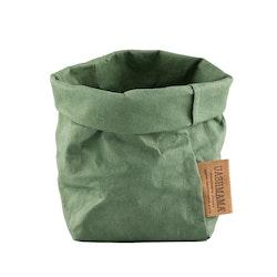 UASHMAMA Paper Bag Colored Piccolo   Salvia