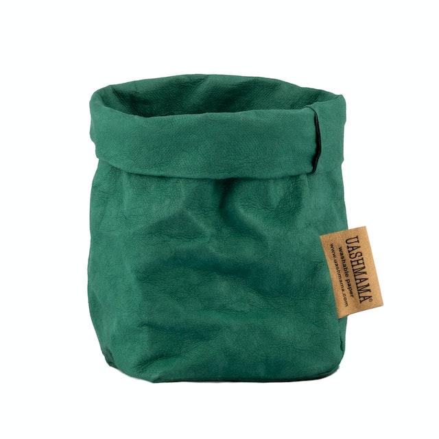 UASHMAMA Paper Bag Colored Piccolo   Smeraldo