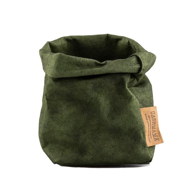UASHMAMA Paper Bag Colored Piccolo   Forest