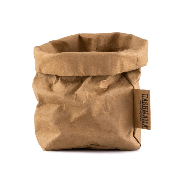 UASHMAMA Paper Bag Basic Small Avana