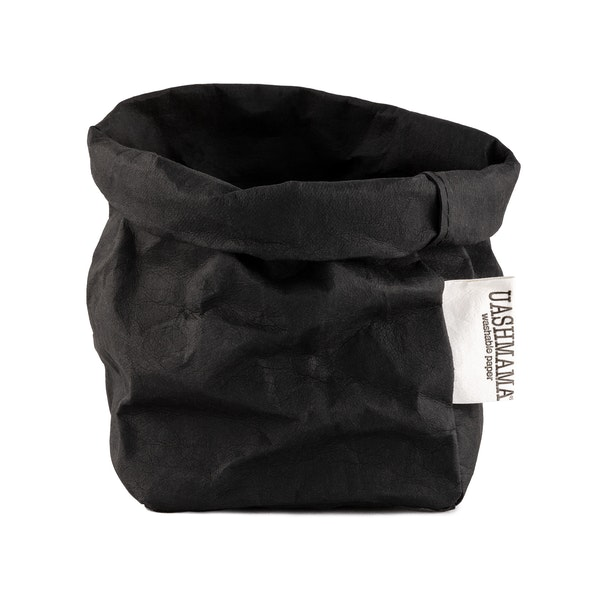 UASHMAMA Paper Bag Basic Small Black