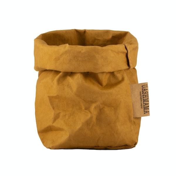 UASHMAMA Paper Bag Colored Small   Ocra