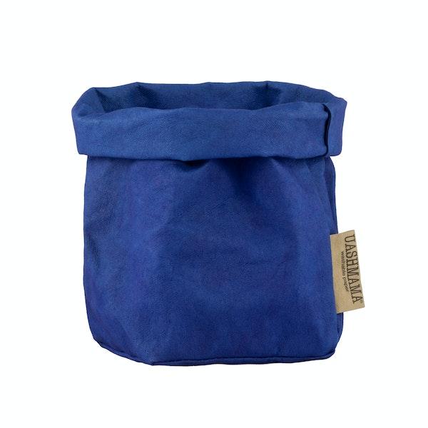 UASHMAMA Paper Bag Colored Small   Cobalto