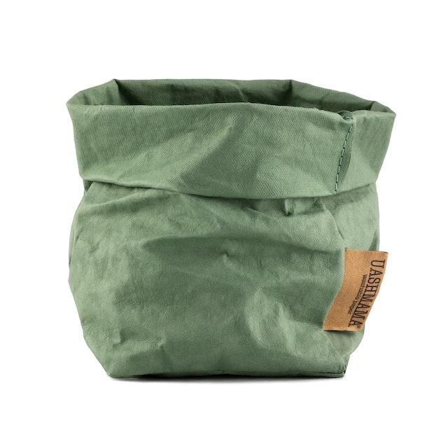 UASHMAMA Paper Bag Colored Small   Salvia