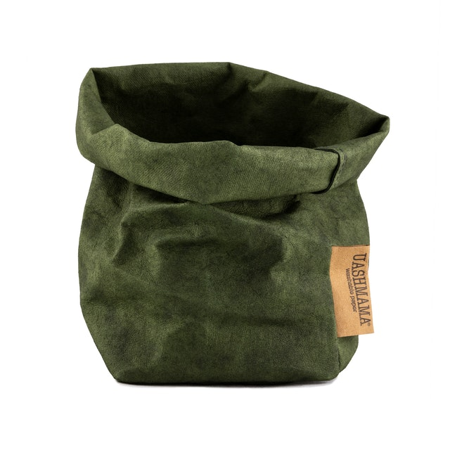 UASHMAMA Paper Bag Colored Small   Forest